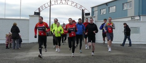 From the archive... Training duathlon 2010